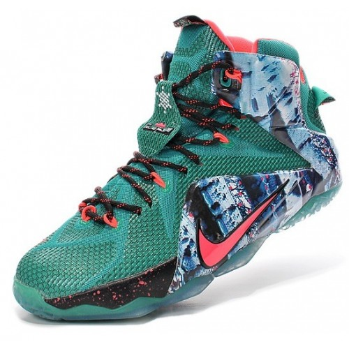 Мужские баскетбольные кроссовки Nike Lebron 12 (Christmas)
