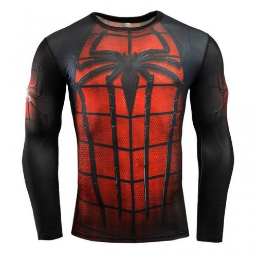Крутой и сильный рашгард Spiderman
