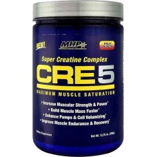 Креатин MHP CRE 5+ Energy Super Creatine Complex 60 порц. (300 г)