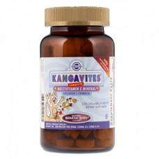 Витамины для детей Solgar Kangavites (120 жевательных таблеток)
