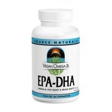 Веганская Омега-3 Source Naturals EPA-DHA 300 мг (60 желатиновых капсул)