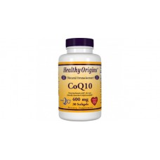 Антиоксидант для поддержки сердечно-сосудистой системы Healthy Origins Coenzyme Q10 400 мг (30 капсул)