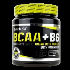 BCAA аминокислоты BioTech BCAA + B6 (340 таб)