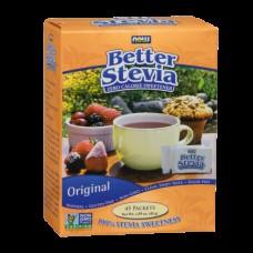 Заменители питания NOW Better Stevia 45 пакетов (45 г)