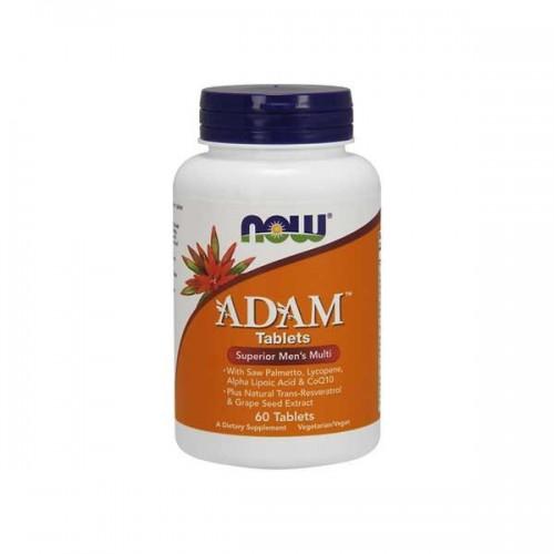 Купить Витамины для мужчин NOW Foods Adam (60 таб) по доступной цене. Заказать онлайн или по телефону 093-5706558