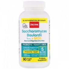 Комплекс Пробиотиков Сахаромицеты Буларди Jarrow Formulas Saccharomyces Boulardii + MOS (90 капсул)