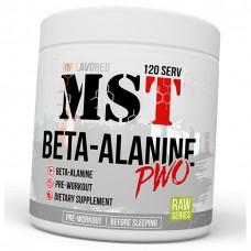 Бета-аланин MST Nutrition Beta-Alanine PWO (300 г)