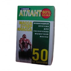 Протеин Атлант 80% +50 Г Креатина (зеленый) (1 кг)