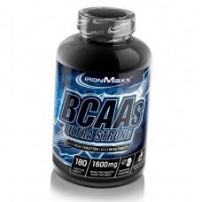 BCAA аминокислоты IronMaxx BCAAs Ultra Strong 2:1:1 (180 таб)