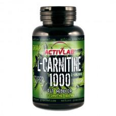 Жиросжигатель L-карнитин Activlab L-Carnitine 1000 + L-Arginine (30 капс)