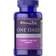 Витаминно-минеральный комплекс Puritan's Pride Women's One Daily Multivitamins (100 капс)