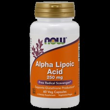 Альфа-липоевая кислота NOW Alpha Lipoic Acid (250 мг) (60 капс)