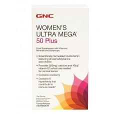 Витамины для женщин GNC Women's Ultra Mega 50 Plus (120 таб)