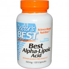 Альфа-липоевая кислота Doctor's Best Alpha Lipoic Acid (150 мг) (120 капс)