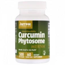 Препарат для повышения иммунной системы Jarrow Formulas Curcumin Phytosome Meriva 500 мг (60 желевых капсул)