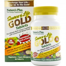 Витамины Natures Plus Source of Life Gold (90 таблеток)