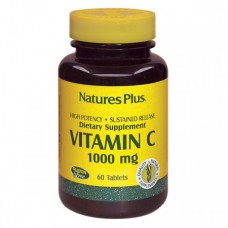 Витамины Natures Plus Vitamin С 1000 мг (60 таблеток)