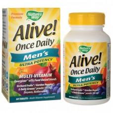 Витамины и минералы Nature's Way Once Daily Men's MultiVitamin (60 таб)