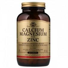 Витамины и минералы Solgar Calcium Magnesium Zinc (250 таблеток)