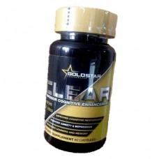 Активатор деятельности мозга Gold Star CLEAR (60 капс)
