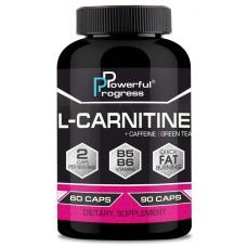 Для снижения веса Powerful Progress L-Carnitine (60 капс)