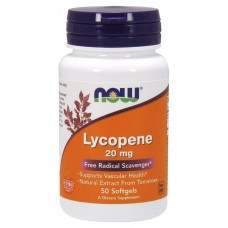 Активное долголетие NOW Lycopene 20 mg (50 капс)