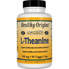 Теанин Healthy Origins L-Theanine 100 мг (90 желевых капсул)