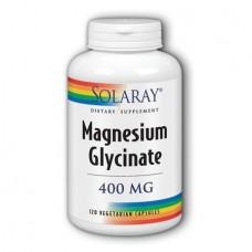 Магний Глицинат Solaray Magnesium Glycinate 400 мг (120 вегетарианских капсул)