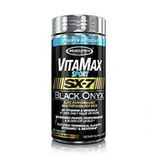 Витамины для мужчин MuscleTech VitaMax SX-7 Black Onyx for Men (Sport) (120 таб)