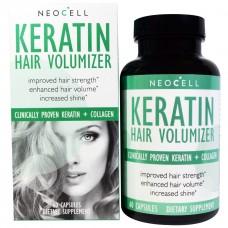 Витамины для ногтей Neocell Keratin Hair Volumizer (60 капс)