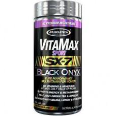Витамины для женщин MuscleTech VitaMax SX-7 Black Onyx for Women (Sport) (120 таб)