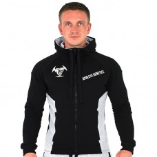 Толстовка Athlete Genetics Power Style (Black-Grey)