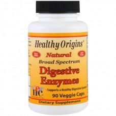 Энзимы широкого спектра действия для улучшения пищеварения Healthy Origins Digestive Enzymes (90 желевых капсул)