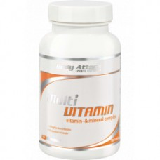 BCAA аминокислоты Body attack Multi Vitamin (100 таб)