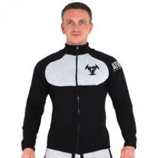 Толстовка Athlete Genetics Pro Style (Black-Grey)