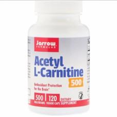 Л-карнитин Jarrow Formulas Acetyl L-Carnitine 500 мг (120 капсул)
