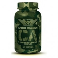 9-компонентный карнитиновый комплекс Scitec Nutrition Muscle Army Carni Cannon (60 капс)