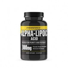 Альфа-липоевая кислота PrimaForce Pure Alpha Lipoic Acid (300 мг) (180 капс)