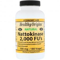 Антикоагулянт Healthy Origins Nattokinase 2.000 Fu's 100 мг (60 желевых капсул)