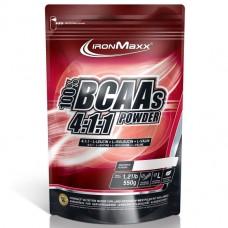 BCAA аминокислоты IronMaxx BCAAs 4:1:1 (550 г)