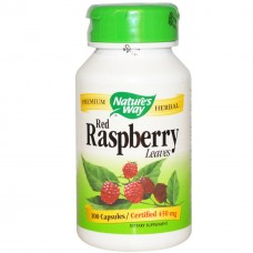 Жиросжигатель Nature's Way Red Raspberry Leaves (100 капс)