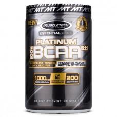 BCAA аминокислоты MuscleTech Platinum BCAA 8:1:1 (200 капс)