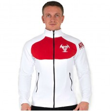 Толстовка Athlete Genetics Pro Style (White-Red)