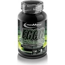 Комплекс с экстрактом зеленого чая IronMaxx EGCG + Ashwagandha (130 капс)