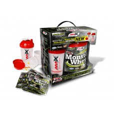 Протеин AMIX Anabolic Monster Whey BOX with Monster Shaker (2 кг)