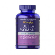 Витаминно-минеральный комплекс Puritan's Pride Ultra Woman Daily Multi Timed Release (90 капс)