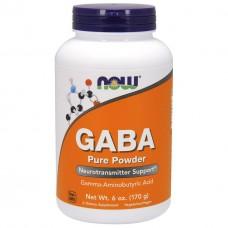 Активный стимулятор гормона роста NOW Foods GABA Powder (170 г)
