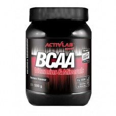 BCAA аминокислоты Activlab BCAA plus Glutamine (500 г)