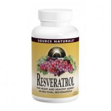 Антиоксидант Source Naturals Resveratrol 40 мг (60 таблеток)