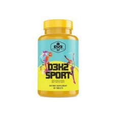 Витамины и минералы MUST D3K2 Sport (90 таб)